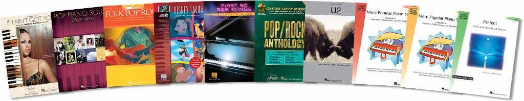 人気曲のピアノ楽譜が練習教材として使える!